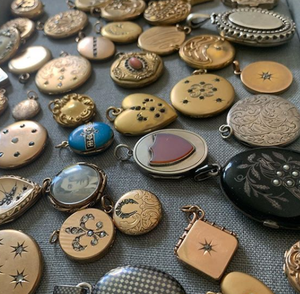 Antique and Vintage Lockets, Cleaning Techniques