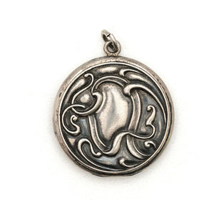 Sterling Silver Ribbon Locket