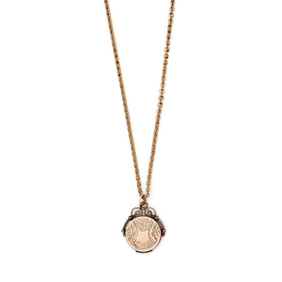 Petite Shield Locket