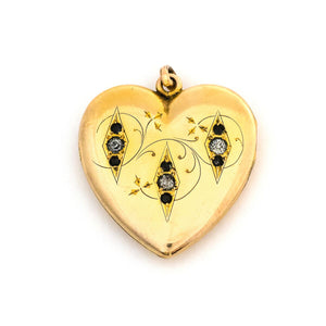 Secret Garden Heart Locket