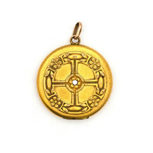 Celtic Cross Locket