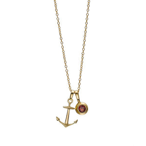 Hope Anchor Necklace