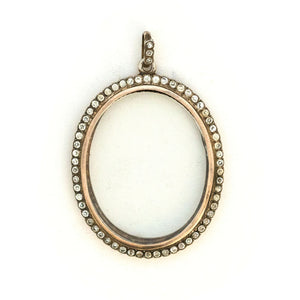 Sterling Portrait Locket