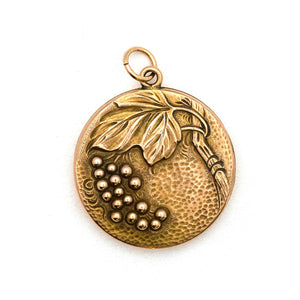 Grapes on the Vine Locket