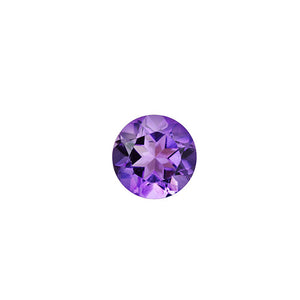 february - amethyst birthstone - pair of 2