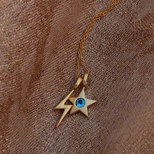 Blixt Lightning Bolt Necklace