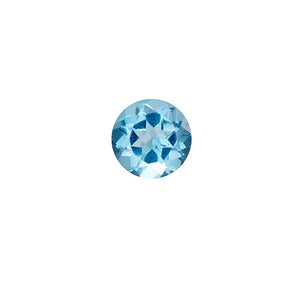 december - blue topaz - pair of 2