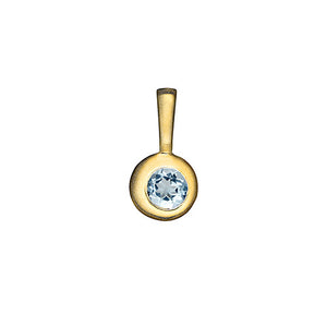 Moon Birthstone Charm