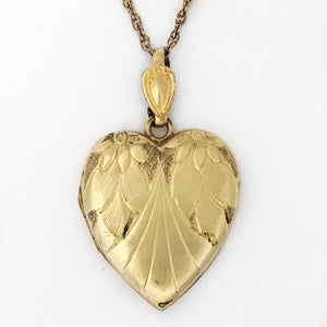 Heart of Gold Locket