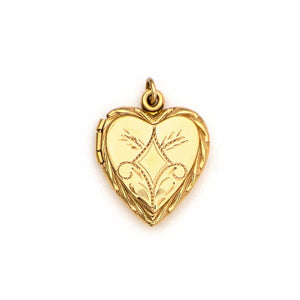 Mid-century Sweetheart Locket
