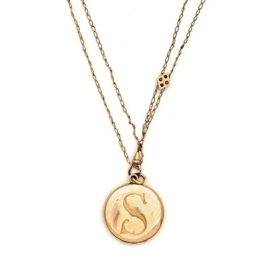 "The ""S"" Locket"