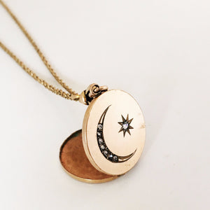 The Moon & Stars Locket