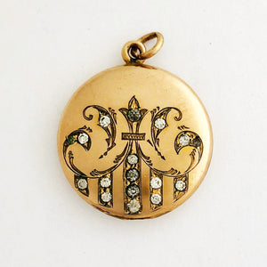 Vintage Chandelier Locket