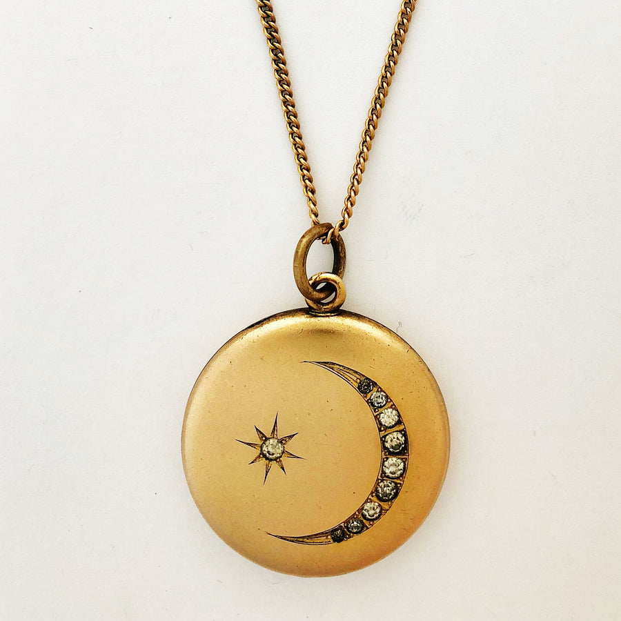 Perfect Moon and Stars Locket