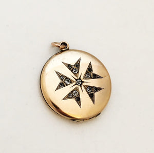 Floral Starburst Locket