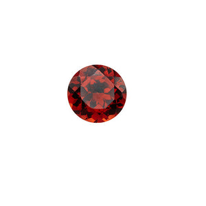 january - garnet birthstone - pair of 2