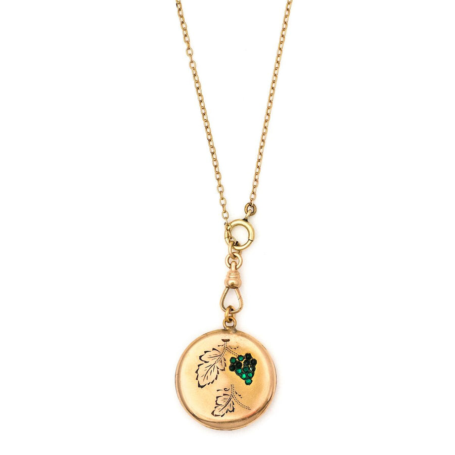 Green Grapes Locket