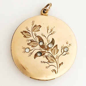 Springtime Floral Locket