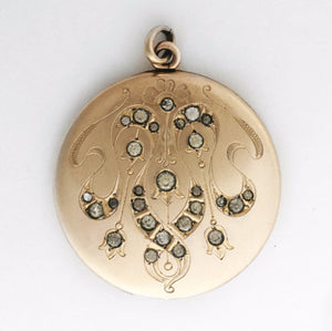 Large Round Chandelier Locket