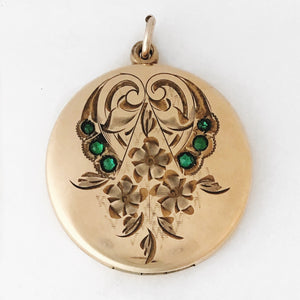 Emerald Garden Locket