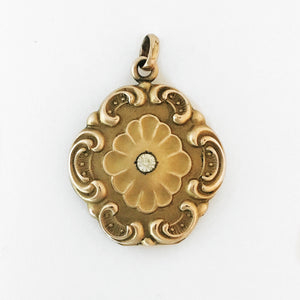 Ornate Floral Locket