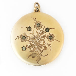 Flower Girl Locket