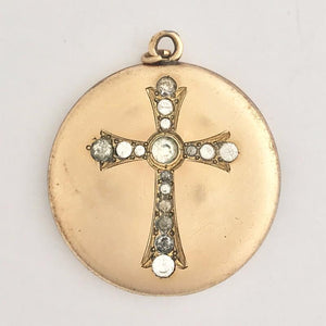 Antique Cross Locket