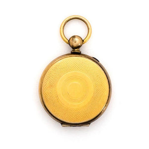 Tintype Pocket Watch Locket
