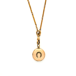 Horseshoe Locket
