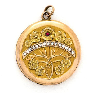 Secret Garden Locket
