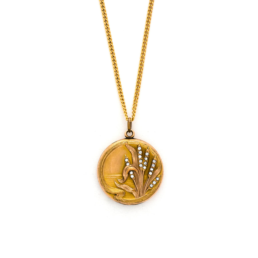 Cattail Locket