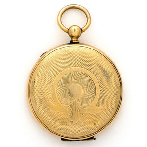 Large Pocket Watch Locket