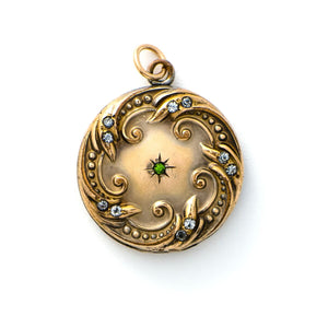 Emerald Ocean Locket