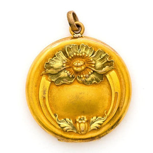 Floral Ring Locket