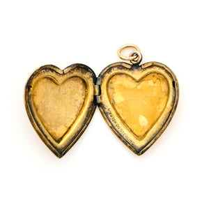 Heart Blossom Locket