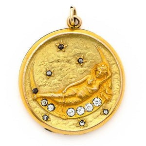 Lady of the Moon Locket