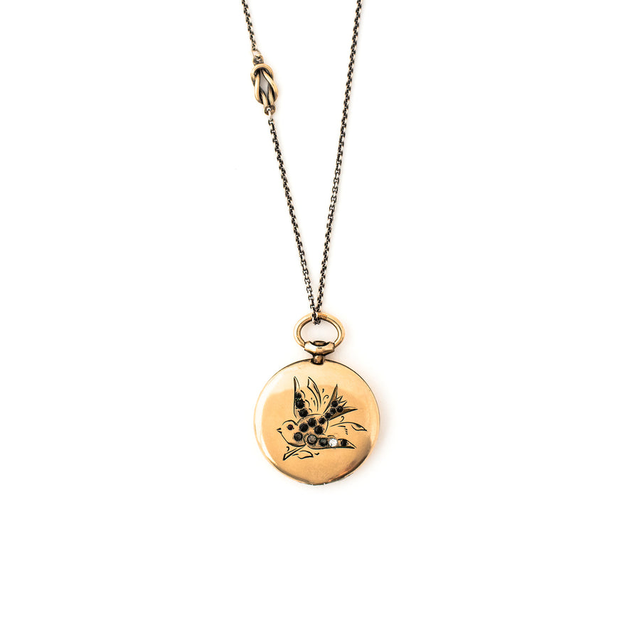 Swallow Locket