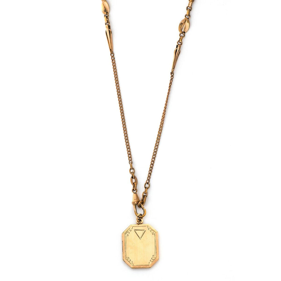 Nabla Rectangular Locket