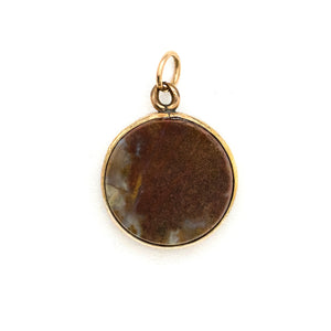 Antique Red Agate Charm