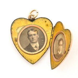 Queen Victoria Heart Locket