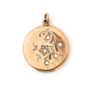 Beach Rose Locket