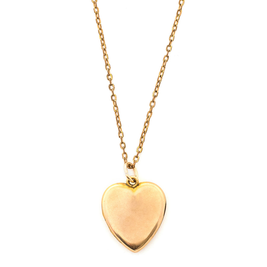 Perfect Plain Heart Locket