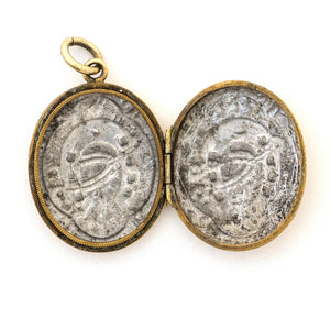 Victorian Horseshoe & Spur Locket