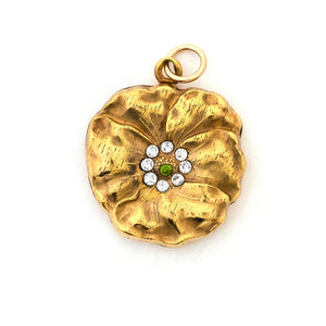 Garden Pansy Locket