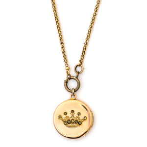 The Queen's Crown Locket