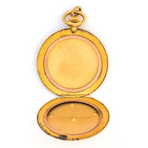 Nautical Star Pocket Watch Locket