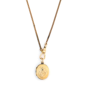 Oval Anchors Aweigh Locket