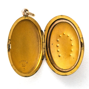 Oval Horseshoe Locket