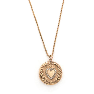 Floral Sweetheart Locket