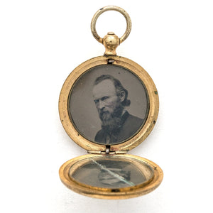 Wild Flower Pocket Watch Locket